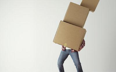 Опаковане при преместване с хамалски услуги