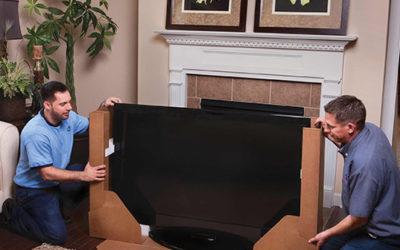 Как да опаковаме телевизора